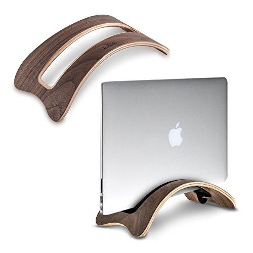 kalibri Laptop Ständer Notebook Stand - Halterung aus Holz für MacBook Air 13''/Pro Retina 13''/15''/Pro 13