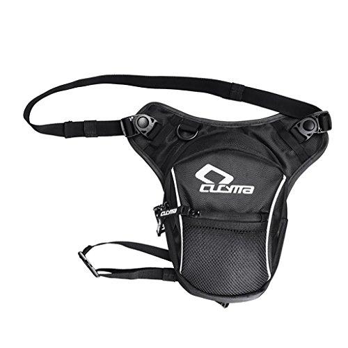 Sharplace 1x Kraftstoff Tank Tasche, Modische Accessoire für ATV Quad Motorrad - Schwarz