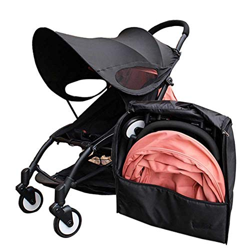 SODIAL Travel Bag Carry Case Baby Stroller Backpack Oxford Cloth Waterproof Organizer for Yoyo+ Yoya Babytime Stroller Accessories