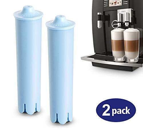 """2x Filterpatrone Wasserfilter Claris Blue für Jura Kaffeemaschinen\""""Lemonfilter\"""" Filterpatronen Aktiv Kohle verbessert Geschmack"""