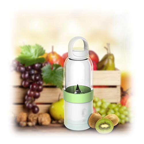 Daily juice Cargador USB Multifuncional portátil Mini Fruta Juicer Color : Green