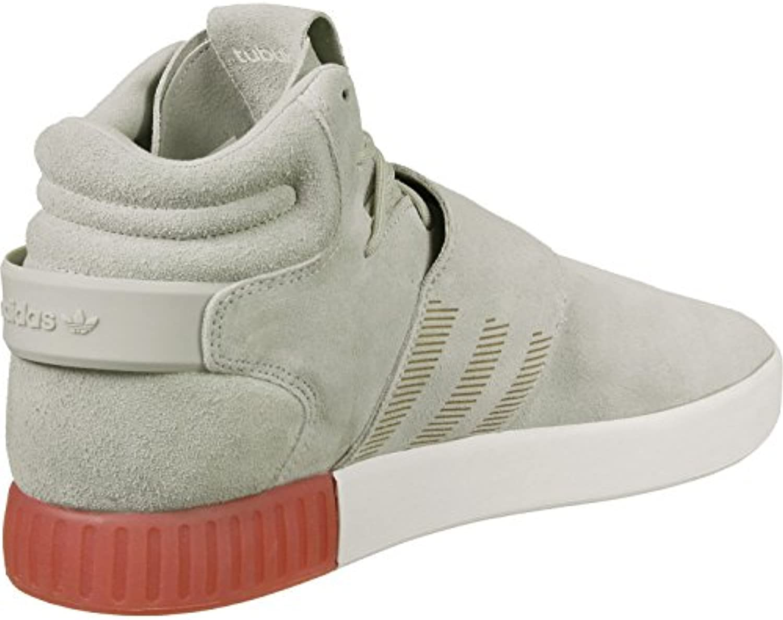 Adidas Sneaker TUBULAR INVADER STRAP BB5035 Beige Weiß, Grau Rot, 47 -