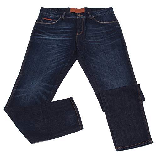 Dolce & Gabbana 2427Z Jeans Uomo 14 Gold Blue Denim Pants Man [52] (Dolce Jeans Männer Gabbana)