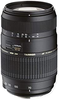 Tamron A17S AF 70 300mm F/4 5.6 Di LD Macro Telephoto Zoom Lens with Hood for Sony DSLR Camera  Black