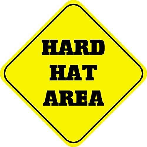 qidushop Dekoschilder mit hartem Hut, Metall,