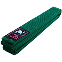Budodrake Cinturón verde 300 cm para Karate Judo Taekwondo Hapkido Aikido Artes marciales