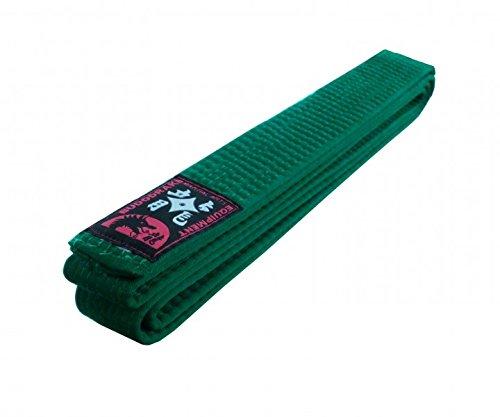 Karategürtel Judogürtel Taekwondogürtel grün (260)