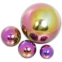 Coloured Stainless Steel Gazing Globe Sphere 10cm