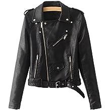 new arrival b84eb 8e4e9 Amazon.it: giacca pelle donna