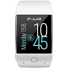 Polar M600 - Smartwatch con GPS integrado y pulsómetro HR en la muñeca, color blanco