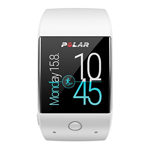 Polar M600 - Smartwatch con GPS integrado y pulsómetro HR en la muñeca, color blanco