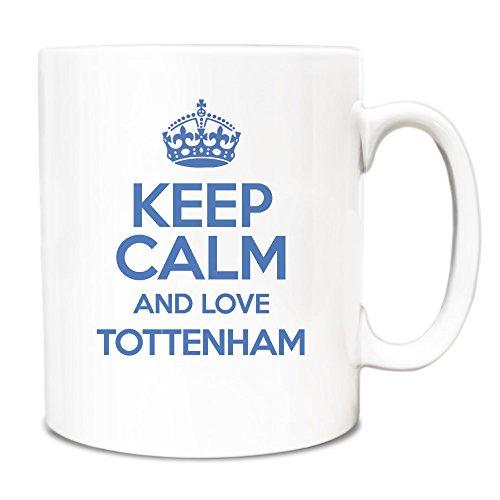 BLUE-Keep-Calm-and-Love-Tottenham-Mug-TXT-0673