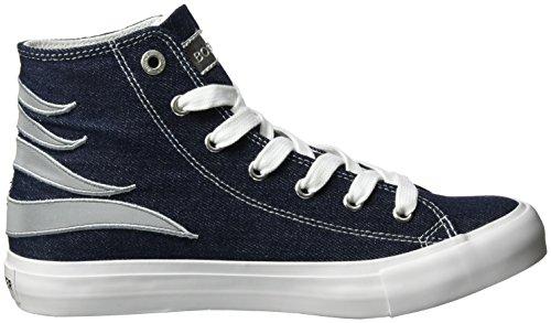 Bogner New Jersey Lady 1, Sneakers basses femme Bleu jean