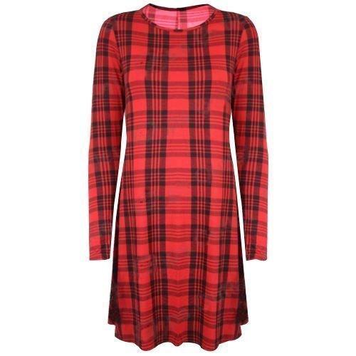 Generic - Robe - Femme rouge/noir