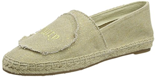 Juicy Couture Lucillee, Espadrilles femme Or - Gold (Metallic Gold Canvas 71A)