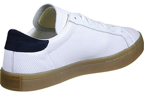 Courtvantage Herren White Basketballschuhe Brown adidas xXB5fg5