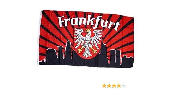 Fahne Fanflagge Frankfurt Im Zeichen Des Adlers Flagge