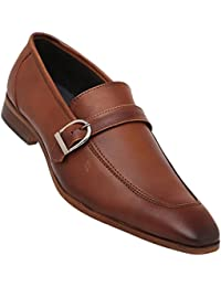 Tresmode Mens Leather Slipon Loafers
