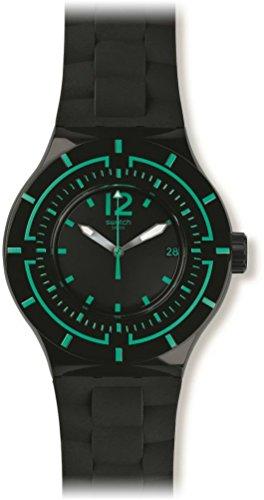 Swatch da uomo orologio da polso analogico al quarzo silicone suub403