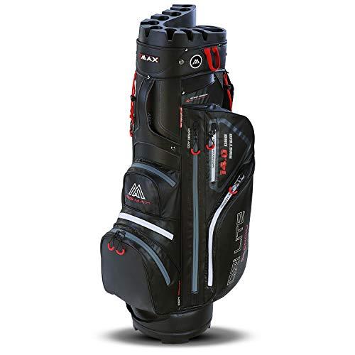 Big Max Dri Lite Silencio Sac de Golf imperméable, Noir