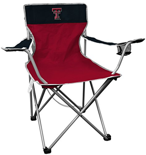 Folding Chair Tech Red Sports Licensing Texas Quad Tech Raiders Raiders250lb Jarden rating NCAA NCAA Kickoff Texas ywvmNnO08