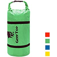Geer Top Adjustable Tent Compression Bag, Color Verde, tamaño 46 x 16 x 16 cm, 0.13