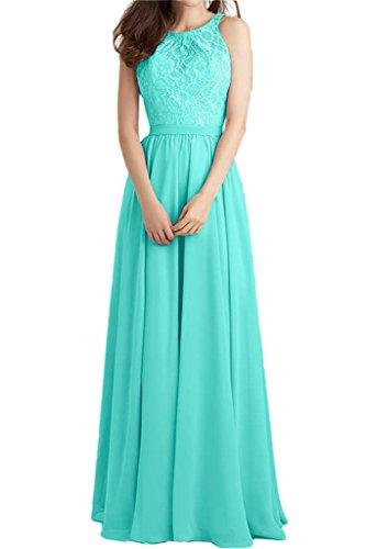 ivyd ressing robe populaire dentelle et mousseline de longueur A ligne Prom robe fixe Soirée Party robe robe Jaegergruen