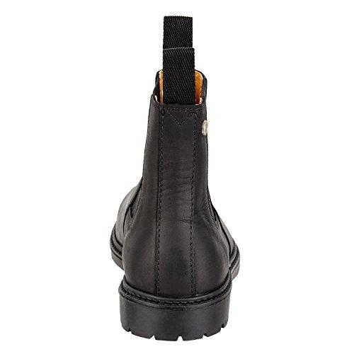Chelsea Boot New Work–Stivaletto da SUEDWIND–Chap Footwear–Stivali da cavallerizzo in vera pelle realizzato a mano in Portogallo. La da equitazione scarpe sono disponibile in misura scarpa 3536 nero