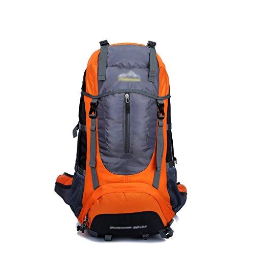 sac à dos randonnée Les hommes et les femmes en plein air camping 65L sac de randonnée imperméable à l'eau de voyage de grande capacité de sport sac à dos (Taille: 35 * 30 * 70cm) Sacs à dos de randonnée