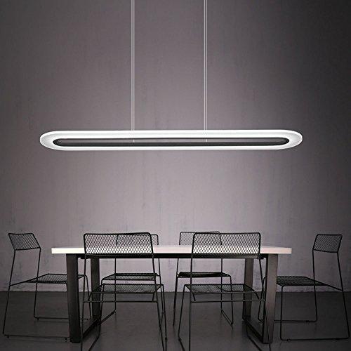 Lámpara LED de techo para salas de reuniones 40W ajustable de ZMH