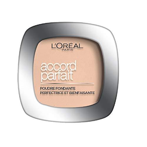 L'Oréal Paris - Poudre Fondante Accord Parfait Ambré Doré (7.D) 9g