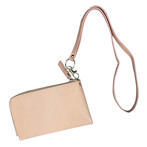 Badiya - Portadocumentos de cuello  Mujer rosa rosa Talla única