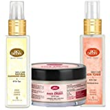 """[Sponsored Products]Biobloom CTM Kit - Cleanse, Tone & Moisturize - Cleansing Milk, Skin Toner & Face Cream, Paraben Free """"COMBO"""""""