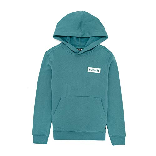 Hurley One and Only Boxed Flashback Pullover Hoody X Small Mineral Teal