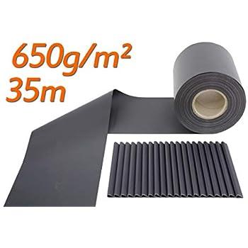 sichtschutzstreifen zaunfolie f r stabmattenzaun matt 650. Black Bedroom Furniture Sets. Home Design Ideas