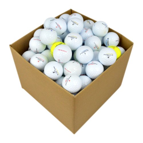 Pinnacle VAL-100-BOX-PIN - Bolas de golf reciclada categoría A , blanco, Lote de 100