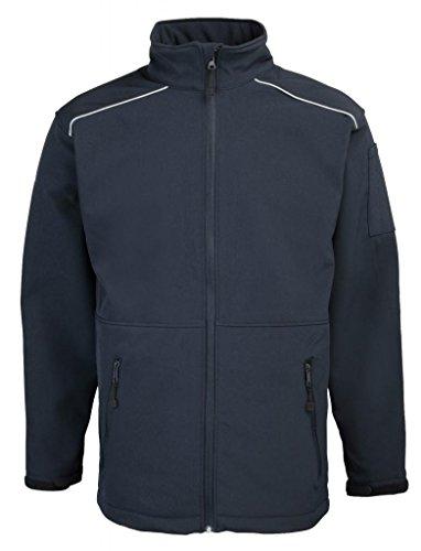 Rty pour homme en tissu softshell travail veste pour homme Bleu - Bleu marine