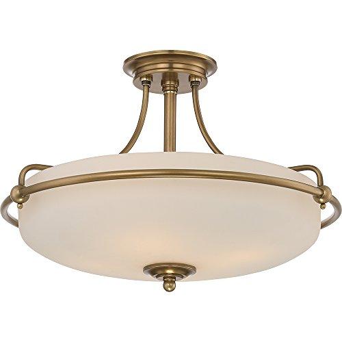 Quoizel Deckenleuchte (Klassische Deckenlampe QZ/GRIFFIN/SFMWS 4x100W/E27 GRIFFIN QUOIZEL)