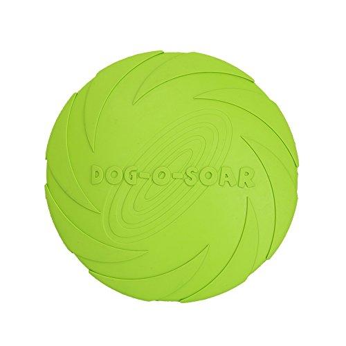 Vivifying Hundefrisbee, 18cm Hunde-Frisbee aus Natürli… | 00712190575946