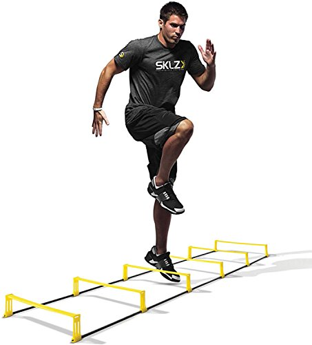 Sklz Elevation Ladder 2 in 1 - Herramienta para coordinación y obstá