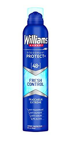 Williams Protect + Fresh Control Desodorante - 2 Paquetes