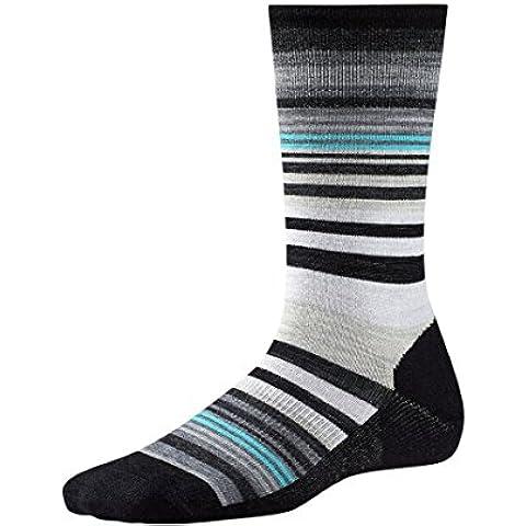 Smartwool Women's Jovian Stripe Socks (Black) Medium