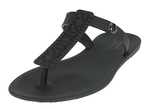 Beppi Chaussures Femme séparateurs d'été badelatschen Noir - Noir