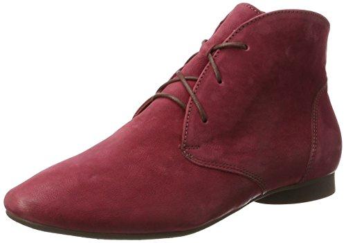 Think Guad, Stivali Desert Boots Donna Rosso (Vino/kombi 37)
