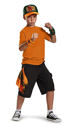 Disguise John Cena WWE You Can't See Me Costume Kit One Size Child (Cena John Kind Kostüm)