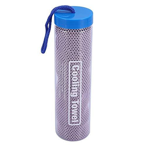 Kühltuch, Instant Cold Cooling Chilly Towel Sport Radfahren Jogging Gym Handtuch Outdoor für Fitness Yoga Pilates Reisen (# 1) (Chilly Pad Cooling Handtuch)