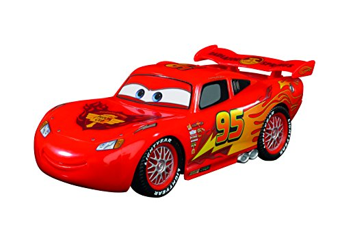 "Image of Disney Cars 1:32 Scale ""Oringna Mcqueen Single Drive"" Remote Controlled Car (Multi-Colour)"