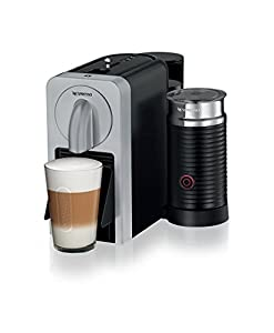 Nespresso Prodigio and Milk Coffee Maker, Silver by Magimix