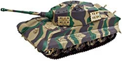 Modern Tank Battery-Operated Model Kit - King Tiger