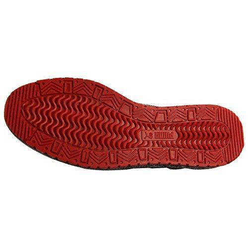Puma Sky Ii Hallo Carbon-Basketball-Schuh-Grö�e Black-High Risk Red